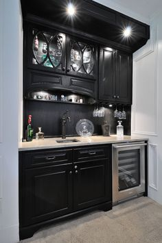 Wet Bar - - kitchen countertops - atlanta - by CR Home Design K (Construction Resources)