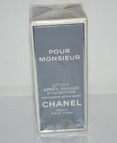 Chanel Pour Monsieur Invigorating After Shave $70 - QuirkyFinds.com
