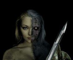 Niflheim, o mundo dos mortos, governado pela deusa HEL