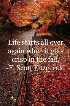 Love this quote for Autumn