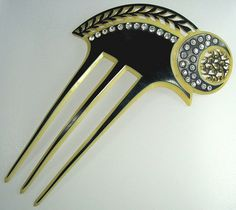 celluloid hair comb
