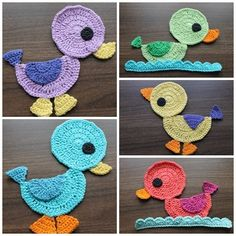 Crochet duck application... Now who will teach me to crochet? Any ...