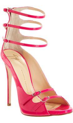 Giuseppe Zanotti Strappy Back Zip Sandal