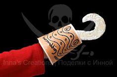 Inna's Creations: Captain Hook's hook, recycling kids craft
