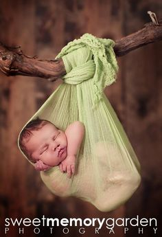 Kiwi Green Cheesecloth Baby Wrap Photo Props