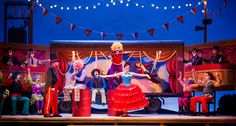 THEATRE REVIEW: Opera North's new production of Smetana's THE BARTERED BRIDE at Leeds Grand Theatre...