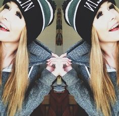 Random fact: If I could look like anyone.. It would be this girl right here ^^ Acacia Clark. :)