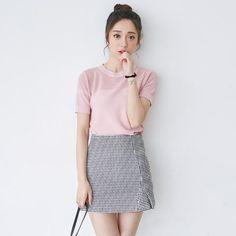 Korean fashion wholesale sweet wild skirt - AddOneClothing - 1