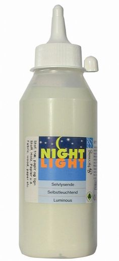 Glow in the dark paint (don't forget to check the reviews on it)
