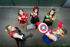 Sailor Avenger Cosplay Group <3