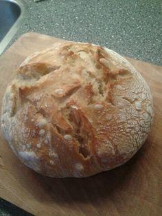 Brood zonder kneden.