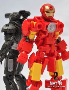 LEGO Iron Man and War Machine