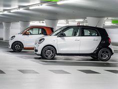 Alles wat je over de nieuwe Smart ForTwo en ForFour moet weten Smart Fortwo, Benz Smart, Smart Forfour, Top 10 Sports Cars, Automobile, Happy City, Auto Motor Sport, Auto News, Paris