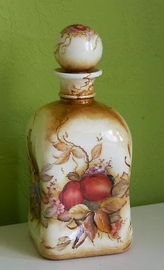 DECOUPAGE BOTELLAS -