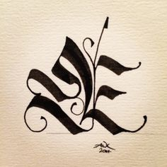 I am a big fan of calligraphy and I believe this design is a great representation of the beautiful work a calligraphy pen can do.