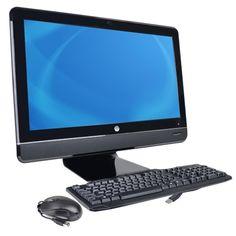 HP Compaq 8200 Elite 23 1080p Core i5-2400S Quad-Core 2.5GHz All-in-One PC - 4GB 500GB/DVD±RW/No OS/Cam/WiFi/BT - B