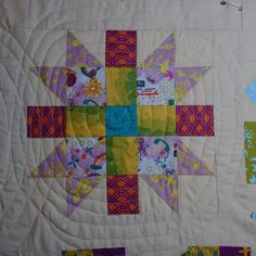 Little Bunny Quilts: In a Spiral {Quilting My Alison Glass Sampler}