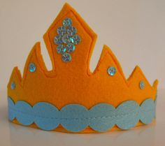 Princess Crown Handmade Felt Crown Girl Party Crown Felt Crown, Handmade Felt, Princess, Trending Outfits, Unique Jewelry, Party, Vintage, Etsy, Parties