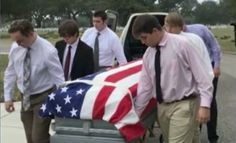 Six teenagers stepped up over their Christmas break toserve as pallbearers at a funeral for a Navy veteran with no family.  Veteran Jerry Wayne Pino diedat the age of 70 on Dec. 12th in Long Beach, Mississippi. During his time in the Navy, he served as a petty officer third classin Vietnam.
