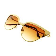 7736706d45c4 Fashion Celebrity Designer Womens Metal Cat Eye Sunglasses C1280 – FREYRS