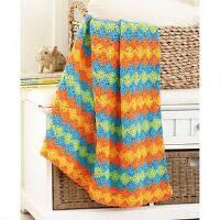 Racing Wheels Blanket Crochet Yarn Kit