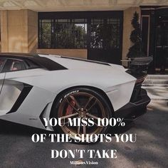 """Reposting @millions.vision: You miss 100% of the shots you don't take.  Execution is key - too many procrastinate and worry if everything is perfect for the right situation.  Go out and take action. (Less than 24 hours left to grab my """"Instagram Growth Hack"""" - Grab it whilst you can)"""