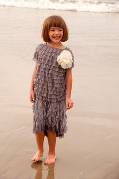 Aesthetic Nest: Sewing: Coastal Curtsy Dresses for the Beach