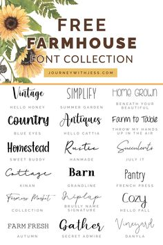 Fancy Fonts, Cool Fonts, Creative Fonts, Schriften Download, Polices Cricut, Vinyle Cricut, Cricut Vinyl, Farmhouse Font, Farmhouse Style