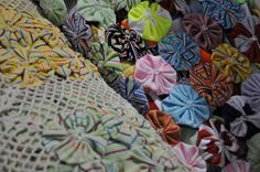 craftsbrazil, textiles, recycled, crochet, made by women in the favelas of Rio