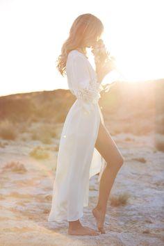 bridal robe by Mae's Sunday