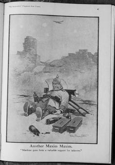 Verb Words, Military Humor, World War I, Wwi, Cool Artwork, First World, Empire, Cartoons, British