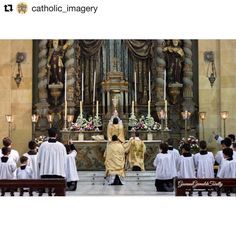 "#Repost @catholic_imagery (@get_repost)  @ggty sent us this beautiful photo he took and writes ""10 years from Motu Proprio Summorum Pontificum mass at Basílica de Nossa Senhora do Carmo São Paulo - SP - #Brazil"" Thanks for sharing Giovanni!  #catholic #catholics #católico #katolik #catholicism #catholicchurch #church #christian #christians #christianity #christ #jesus #jesuschrist #religion #religious #christianchurch #romancatholic #romancatholicchurch #faith #proudcatholic #bible #gospel"