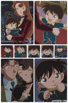 Little Conan-kun = cutest thing ever
