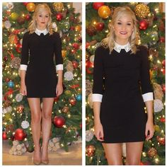 Get this look: http://lb.nu/look/6931412  More looks by Martina Reynolds: http://lb.nu/martinasmark  Items in this look:  Ted Baker Embellished Collar Dress