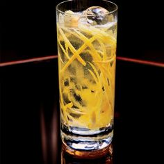 When in doubt, add soda. The resulting highball (about 2 oz. of any booze filled to the top with soda) is refreshing—and impossible to mess up.