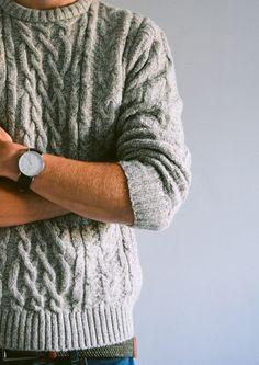 "sunshineandfeelingfine: ""classic cable knit """