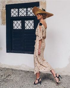 57 New Ideas Dress Midi Wedding Outfit Lovely Dresses, Day Dresses, Race Day Fashion, Mode Style, The Dress, Chic Outfits, Casual Chic, Street Style, Style Inspiration