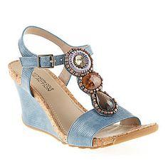 Kenneth Cole Reaction Womens Seeking Cedar Sandals :: Womens Shoes :: Dress Sandals :: FootSmart