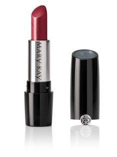 Mary Kay Gel Semi-Shine Lipstick delivers radiant color and luminous shine. Mary Kay Lipstick, Berry Lipstick, Lipstick Shades, Natural Lip Colors, All Natural Skin Care, Mary Kay Catalog, Mary Kay Uk, Skin Care Center, Lip Primer