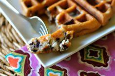 Use your favorite muffin mix to make waffles!  | Mrs. Schwartz's Kitchen