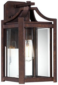 """Rockford Collection 16 1/4"""" High Bronze Outdoor Wall Sconce - front porch"""
