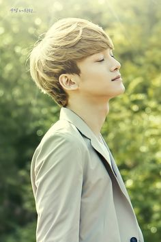 Exo - Chen ; that lighting and photo quality. his face is too perfect to be real--