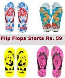 Today Best Offer on Flip Flops Starts at Rs. 59 Only - Best Online Offer