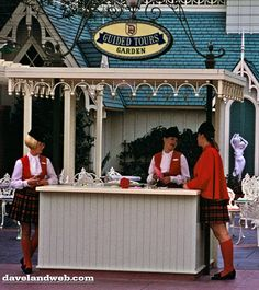 """Disneyland Tour Guides - I was a guide in the 70's and met my husband Ken there who worked on the steam trains as a conductor.  Yes...""""Barbie & Ken"""" met at Disneyland and have been married for over 36 years!"""
