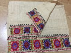ottoman embroidery towel 3