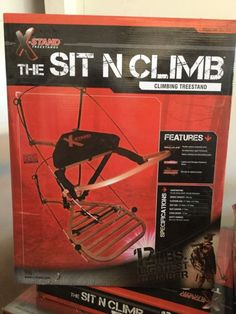 X-Stand The Sit & Climb 12# Aluminum Climber 300# Weight Cap, XSTAND3 | eBay