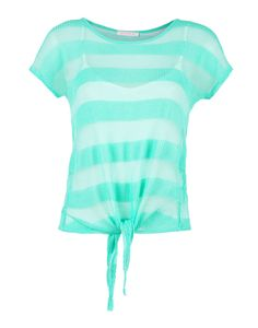 Sheer tie waisted shirt at Ardene Cute Comfy Outfits, Boho Outfits, Pretty Outfits, Summer Outfits, Girl Outfits, Fashion Outfits, Summer Clothes, Tie Up Shirt, Tank Top Shirt