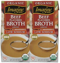 Imagine Organic Beef Broth Low Sodium 32 oz 2 pk * You can get additional details at the image link.
