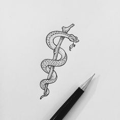 asclepius tattoo - Google Search