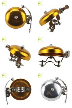 [Visit to Buy] PCycling Bicycle Bell Ring Handlebar Retro Style Classic Bell Loud Sound Aluminum Alloy Cycling Bell Horn Large Bells #Advertisement